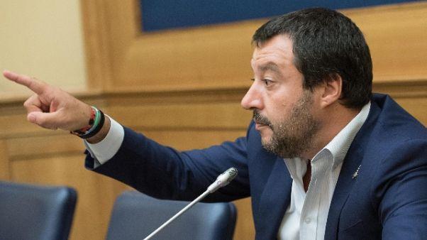 Salvini, stupro più grave se da migrante
