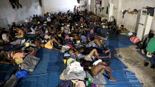EU sticks to Libya strategy on migrants, despite human rights concerns