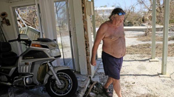 En Floride, les Keys paradisiaques bouleversés par le passage d'Irma