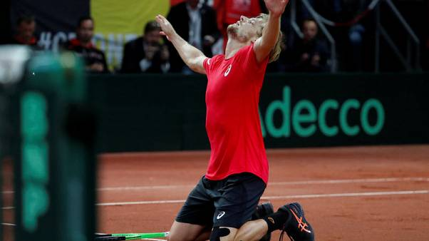 Goffin declares himself fit for Australia Davis Cup tie
