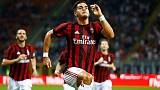 Silva treble helps Milan rout Vienna in Europa League