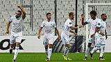 Europa League: Nice plastronne, Marseille respire, Lyon patine