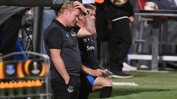 Everton manager Koeman takes blame for Atlanta 'lesson'