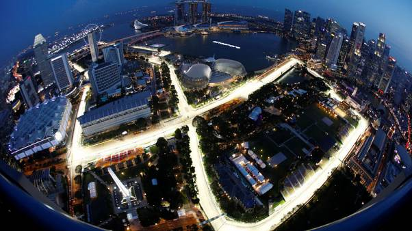 Singapore extends Formula One contract until 2021