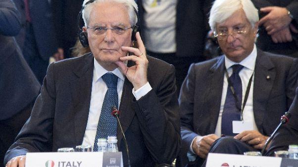 Libia: Mattarella, Italia fa sua parte