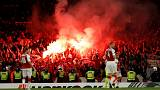 UEFA charges Arsenal and Cologne over crowd problems