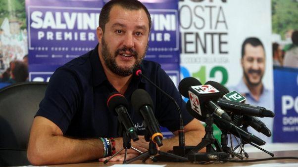 Lega: Salvini convoca Consiglio federale