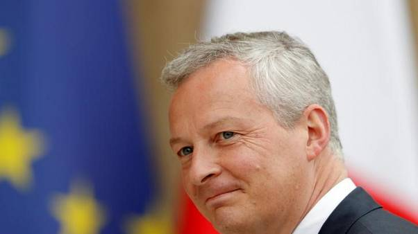 Nine EU states back plan to tax online giants' turnover - Le Maire