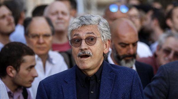 """D'Alema a Di Francesco """"Tiferò per te"""""""