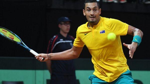 Coupe Davis: en demi-finales, Belgique et Australie à égalité