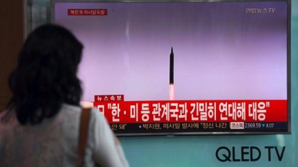 """L'ONU """"condamne fermement"""" le tir nord-coréen """"hautement provocateur"""""""