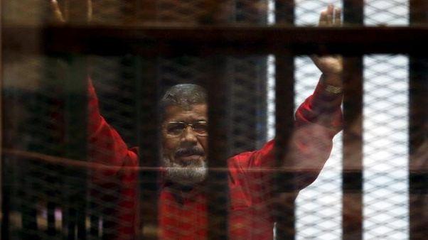 Egypt court sentences Mursi to 25 years in Qatar spy case