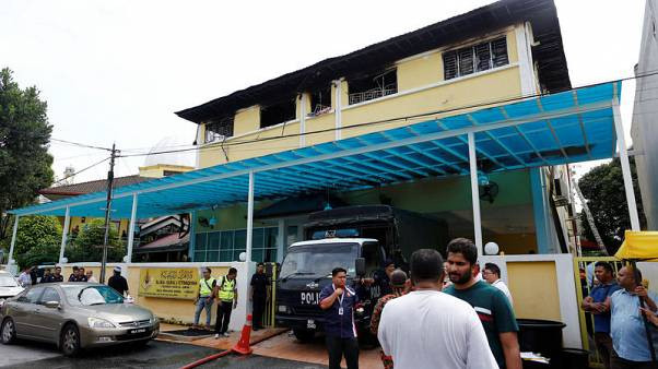 Police arrest seven youths after deadly Malaysia school blaze