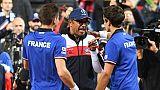 Coupe Davis: la France remporte le double et prend l'avantage 2-1 devant la Serbie
