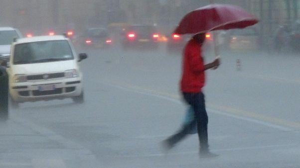 Maltempo: temporali e raffiche al Centro