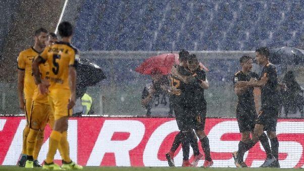 Serie A: Roma-Verona 3-0