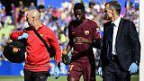 Baromètre des Bleus: Dembélé blessé, Griezmann fête son nouveau stade