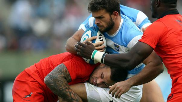 Pumas winger Moyano to miss rest of Rugby Championship