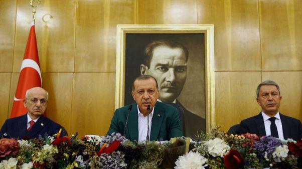 Turkey's Erdogan to discuss northern Iraq vote with Iraqi PM