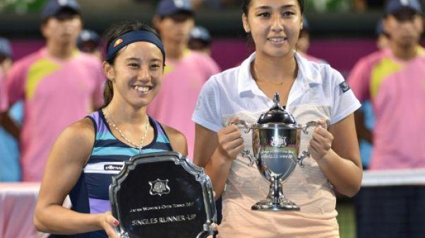 Tennis: premier titre pour Zarina Diyas à Tokyo