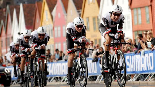 Cycling - Sunweb shine with team time trial double at world championships