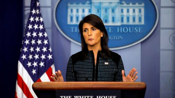 U.S. Ambassador Haley - U.N. has exhausted options on North Korea