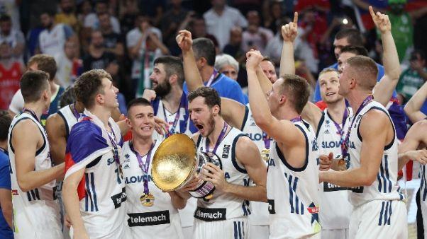 Eurobasket: trionfo Slovenia, Serbia ko