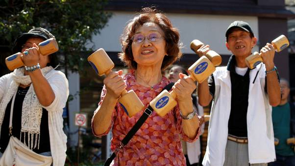 Staying fit: Japan's elderly hits record in challenge to labour market