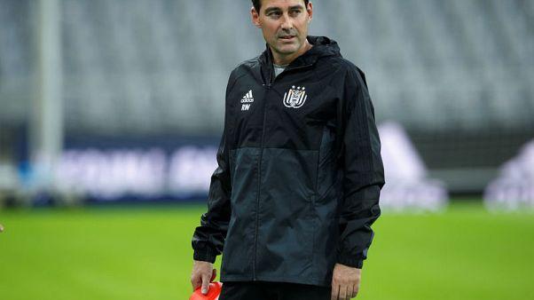 Belgian champions Anderlecht fire coach after slow start