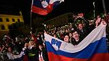 Basket: les champions slovènes attendus en héros à Ljubljana