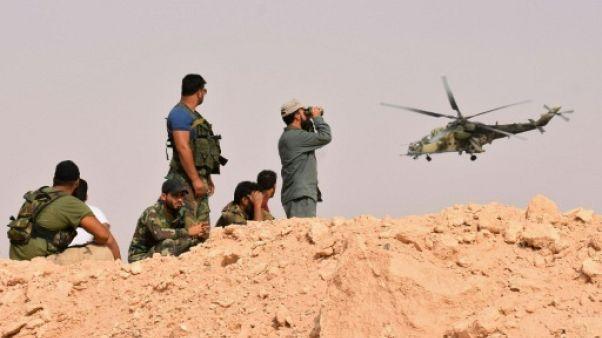 Syrie: l'armée franchit l'Euphrate, l'EI quasi-assiégé à Deir Ezzor