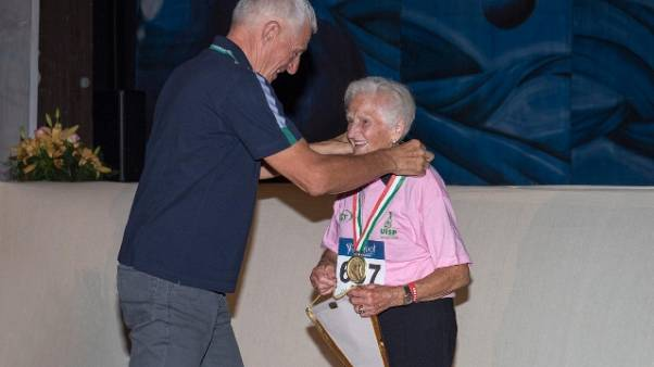 Sport: toscana 94enne oro nel ciclismo