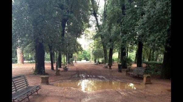 Turista stuprata e legata a palo a Roma