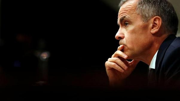Bank of England's Carney sees Brexit pushing up inflation, rate rise likely