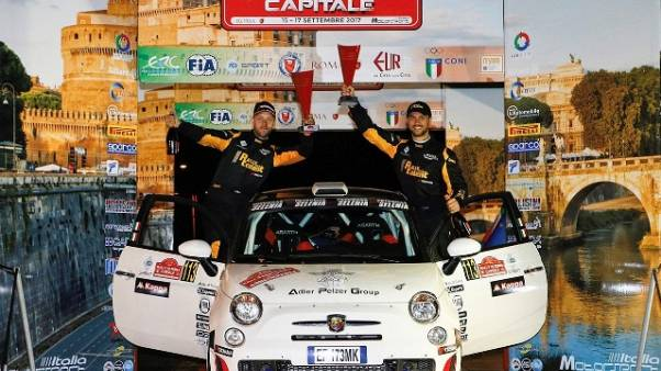 Campioni Rally Talent in trionfo a Roma