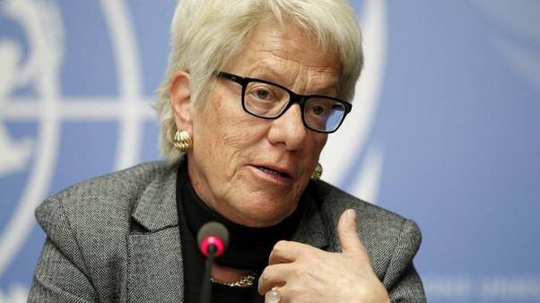 Syria investigator del Ponte signs off with a sting