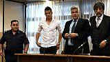 Un footballeur argentin condamné pour viol, mais pas emprisonné