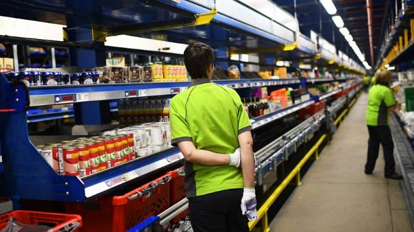 Ocado sales growth edges higher in latest quarter