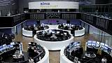 European shares edge down with all eyes on the Fed