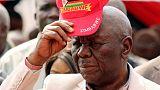 "Zimbabwe's Tsvangirai ""out of danger"" in South African hospital"