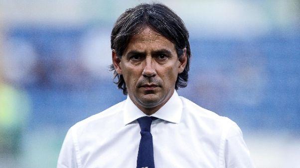Lazio: Inzaghi, Napoli è da scudetto