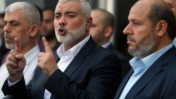 Hamas asks Abbas to lift Gaza sanctions after disbanding shadow government