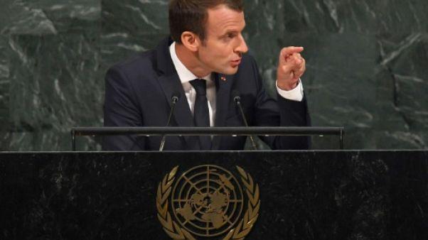 "Climat: ""l'accord de Paris ne sera pas renégocié"", selon Macron"