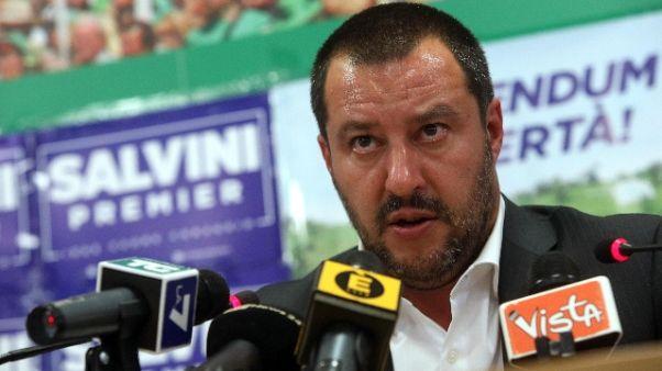 Salvini, pronto come premier.Squadra c'è