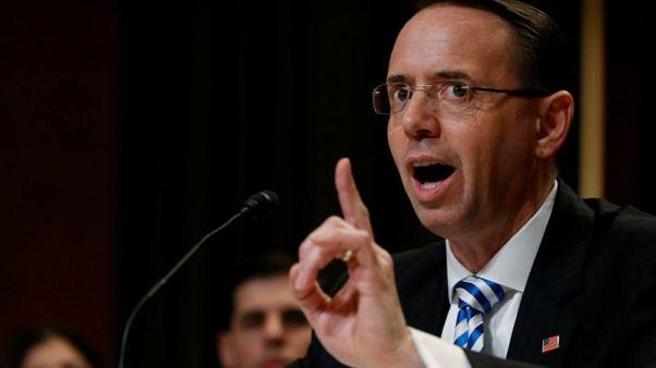 U.S. deputy attorney general interviewed over FBI ex-director's firing - WSJ