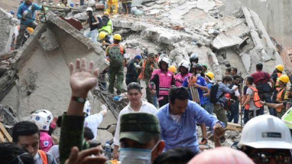 Mexique: le bilan du séisme monte à 224 morts
