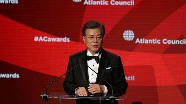 "South Korea president says Trump's warning to North Korea ""firm and specific"""