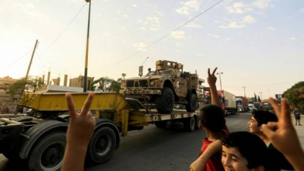 """La """"fin"""" de l'EI à Raqa est proche, selon les forces antijihadistes"""