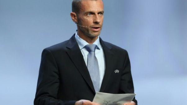 Transferts: Ceferin (UEFA) demande à Merkel et aux dirigeants européens un vrai soutien