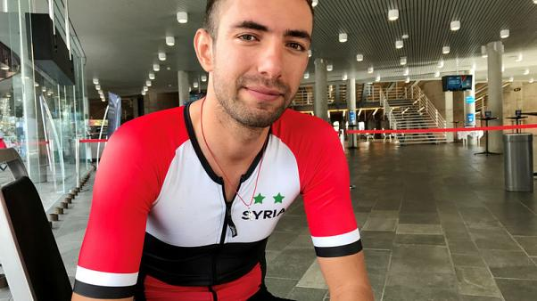 Cycling - Wais completes journey from war-torn Syria to world championships